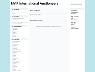 internationalauctioneers.com screenshot