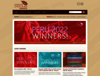 internationalchocolateawards.com screenshot