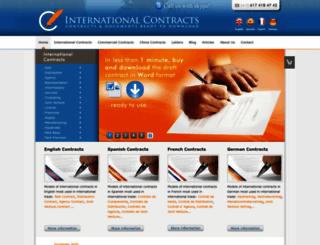 internationalcontracts.net screenshot