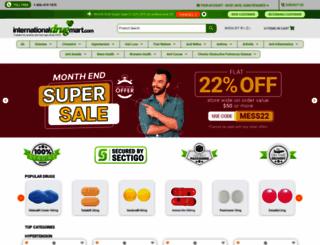 internationaldrugmart.com screenshot
