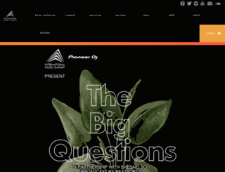 internationalmusicsummit.com screenshot