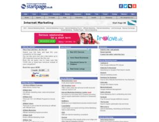 internet-marketing.page.co.uk screenshot