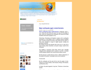 internet-record.blogspot.com screenshot