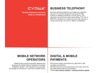 internet.cytalk.com screenshot