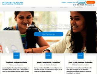 internetacademy.co.in screenshot