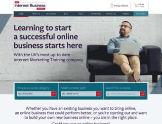 internetbusinessschool.com screenshot