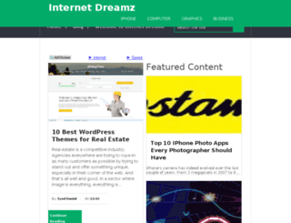 internetdreamz.com screenshot