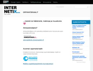 internetix.fi screenshot
