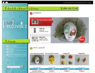 internetprodavnica.krunet.net screenshot