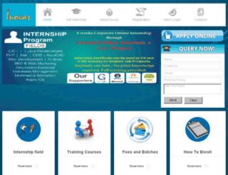 internship.inovas.in screenshot