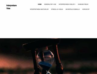 interpretare-vise.ro screenshot
