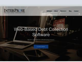 interprose.com screenshot