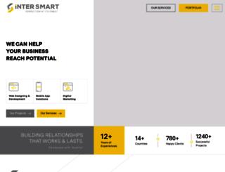intersmartsolutions.com screenshot
