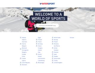 intersport.com screenshot