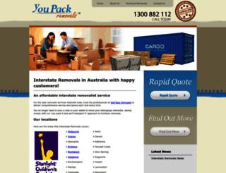interstateremovals.com screenshot