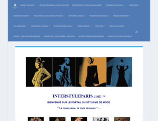 interstyleparis.com screenshot