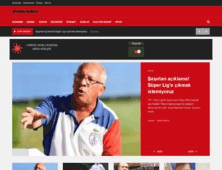interturkhaber.com screenshot