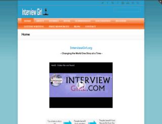 interviewgirl.com screenshot