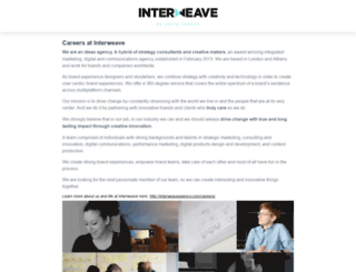 interweave.workable.com screenshot