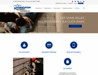 intgas.com screenshot