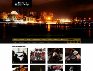 inthecityafrica.com screenshot