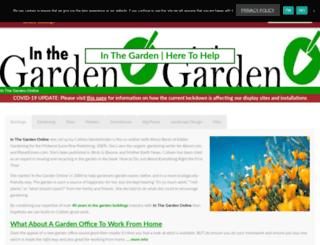 inthegardenonline.com screenshot