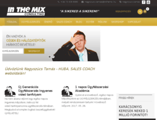 inthemix.hu screenshot