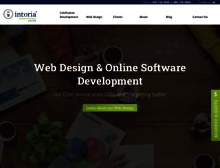 intoria.com screenshot