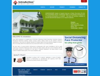 intraactionindia.com screenshot