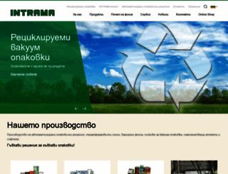 intrama-bg.com screenshot