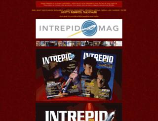 intrepidmag.com screenshot