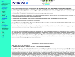 introni.it screenshot