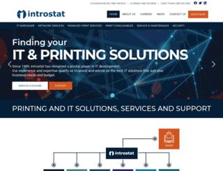 introstat.co.za screenshot