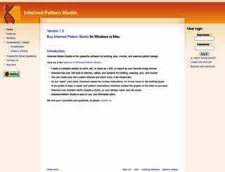 intwinedstudio.com screenshot