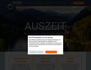 invent-europe.com screenshot