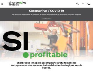 inventaide.sherbrooke-innopole.com screenshot