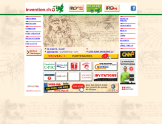invention.ch screenshot