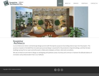 inventivearchitects.com screenshot