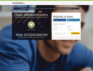 inversiones.com screenshot