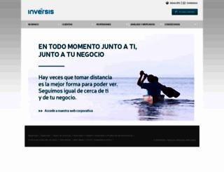 inversis.com screenshot