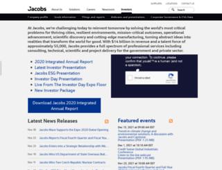 invest.jacobs.com screenshot