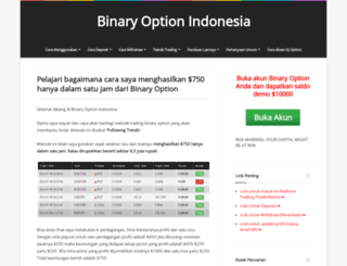Risk vs reward vs probability in binary options