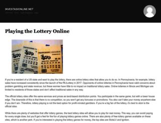 investasionline.net screenshot