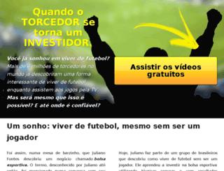 investidoresfutebol.com.br screenshot
