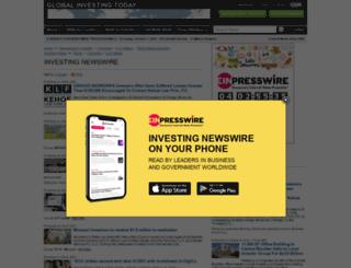 investing.einnews.com screenshot