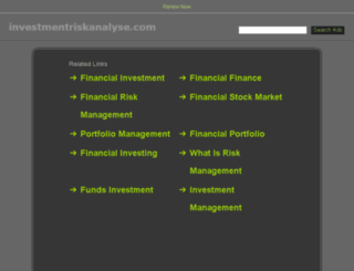 investmentriskanalyse.com screenshot
