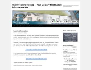 investors.housez.ca screenshot