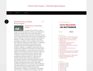 investorsclinicgurgaon.wordpress.com screenshot
