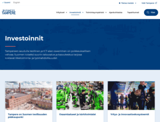 investtampere.fi screenshot