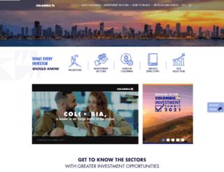 inviertaencolombia.com.co screenshot